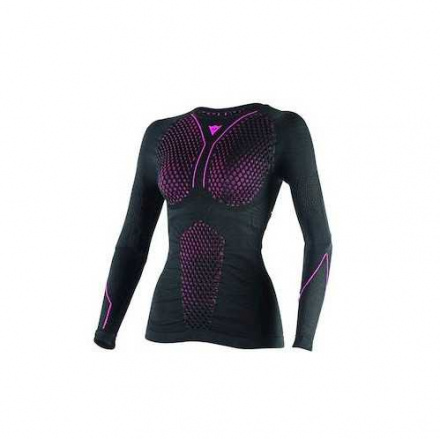 D-Core Thermoshirt LS Dames - Zwart-Roze