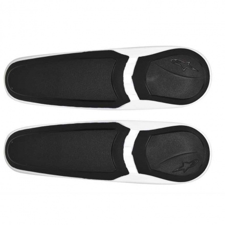 Replacement Toe Slider - Wit-Zwart