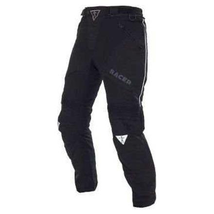 Adventure textiele motorbroek - Zwart