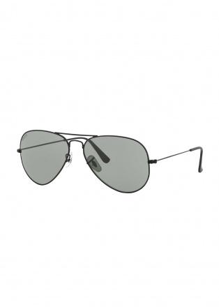 Aviator zonnebril - Mat Zwart