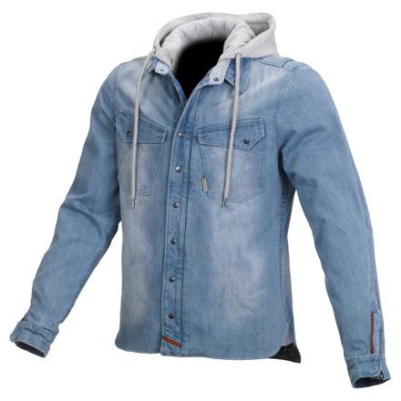 Westcoast casual hoodie - Licht Blauw