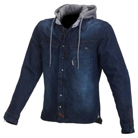 Westcoast casual hoodie - Donkerblauw