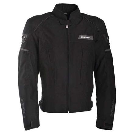 Instinct textiele motorjas - Zwart