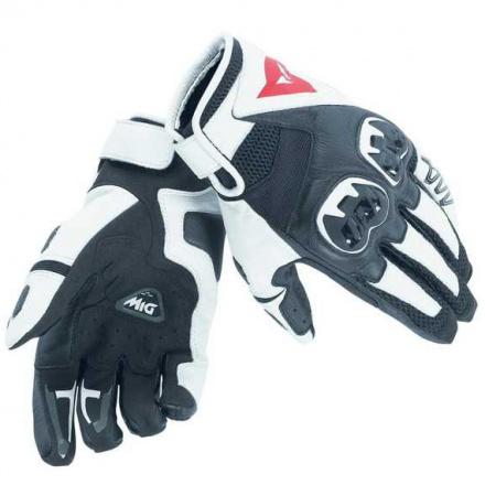 Mig C2 Unisex Motorhandschoen - Zwart-Wit