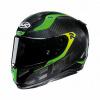 Motorhelm , RPHA 11 carbon Bleer - Zwart-Groen