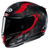 Motorhelm , RPHA 11 carbon Bleer - Zwart-Rood