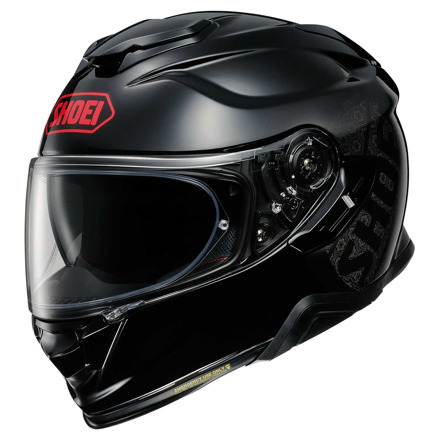 Shoei GT-Air 2 Emblem, Zwart-Grijs-Rood (1 van 1)
