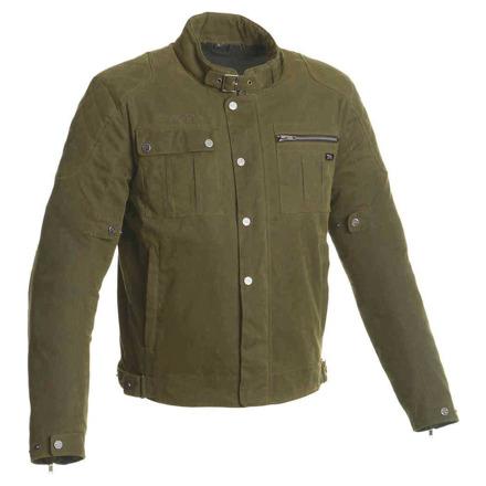 Maddock textiele motorjas - Donker Groen