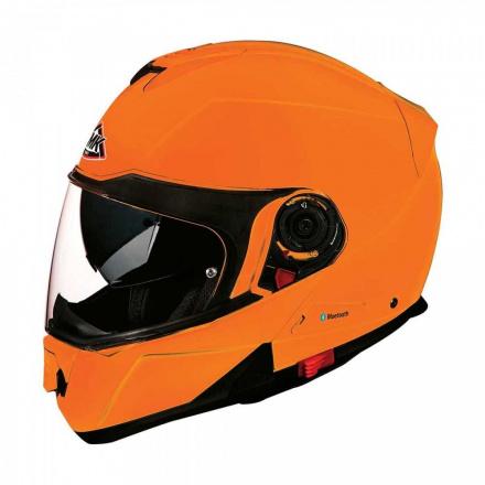 Motorhelm , Glide Basic - Oranje