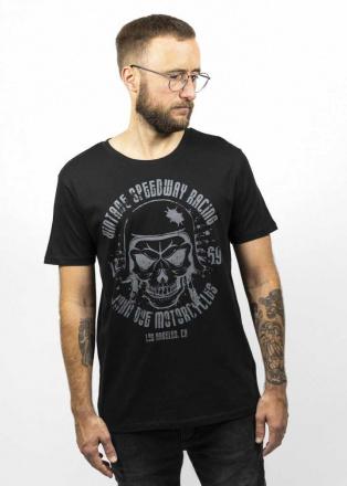 John Doe T-Shirt Skull, Zwart (2 van 3)