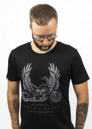 John Doe T-Shirt Wings, Zwart (1 van 2)