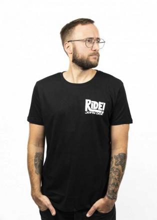 John Doe T-Shirt Ride, Zwart (1 van 2)