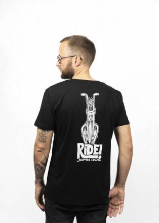 John Doe T-Shirt Ride, Zwart (2 van 2)