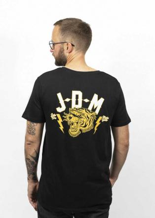 John Doe T-Shirt Tiger, Zwart (2 van 2)