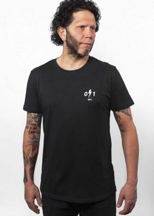 John Doe T-Shirt Signature, Zwart (1 van 2)