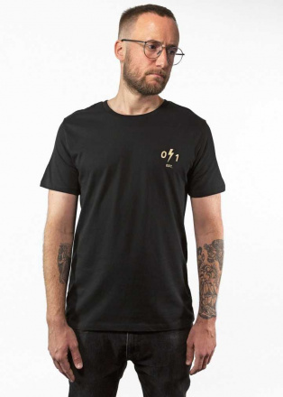 John Doe T-Shirt Springfield, Zwart (1 van 2)