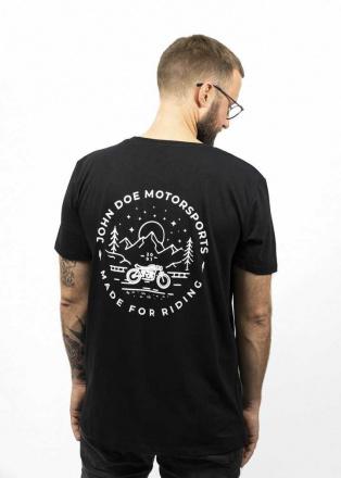 John Doe T-Shirt Flagstaff, Zwart (2 van 2)