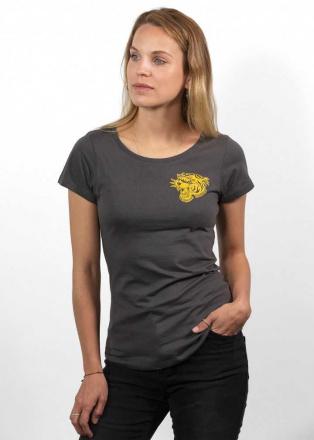 John Doe T-Shirt Tiger Dames, Grijs (1 van 2)