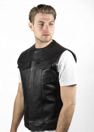 John Doe MC Outlaw Vest, Zwart (3 van 3)