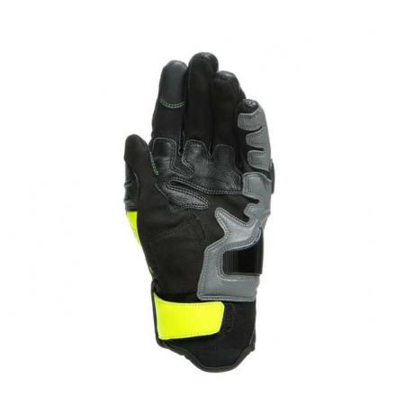 Dainese Vr46 Sector Korte Handschoenen, Zwart-Antraciet-Fluor (4 van 4)