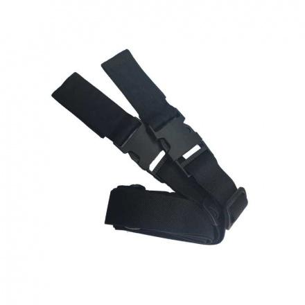 Bikewear Bretels Met Klittenband - Zwart