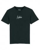 vrijetijds T-shirt - Zwart met print