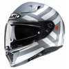 Motorhelm , I70 Watu - Grijs-Wit