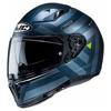 Motorhelm , I70 Watu - Blauw-Grijs