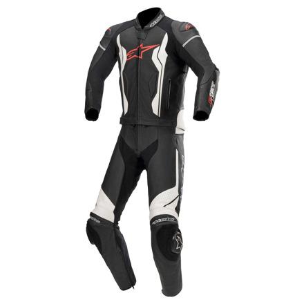 GP Force 2PC Suit - Zwart-Wit