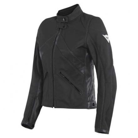 Dainese Santa Monica Lady Leather Jacket, Zwart (2 van 2)