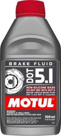 MOTUL DOT 5.1 Brake Fluid - 500ml (10095)