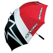 Paraplu - Zwart-Rood