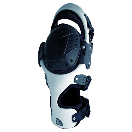 Knie Brace T6 (links) - Wit-Zwart
