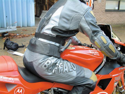 GC Bikewear - Hou Je Vast, Zwart (3 van 3)
