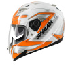 S900 C Creed (Pinlock) - Wit-Oranje-Zilver
