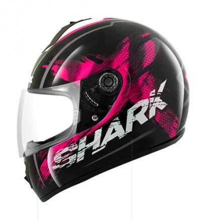 Shark S600 Exit (Pinlock), Zwart-Roze-Wit (1 van 1)