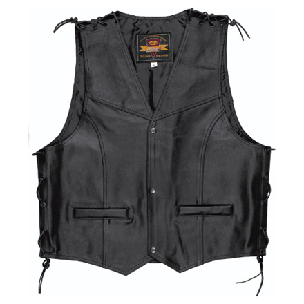 Patch Vest - Zwart